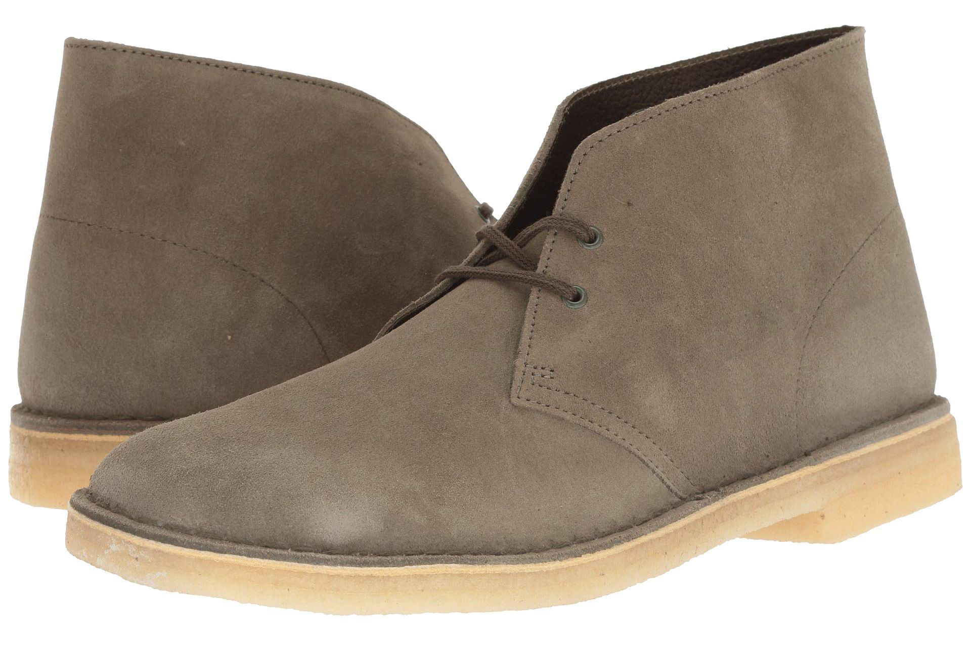 Clarks Desert Boot zappos.com $63.00 SHOP When it comes to timeless desert boots, you can't go wrong with a Clarks classic.
