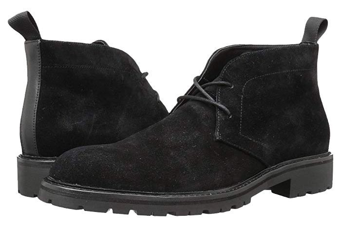 Calvin Klein Ultan zappos.com $92.10 SHOP Nothing wears more easily than a black suede boot.
