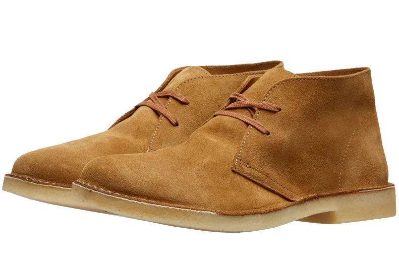 Astorflex Driftflex Desert Boot endclothing.com $125.00 SHOP Every man can use a tan suede desert boot in his rotation.
