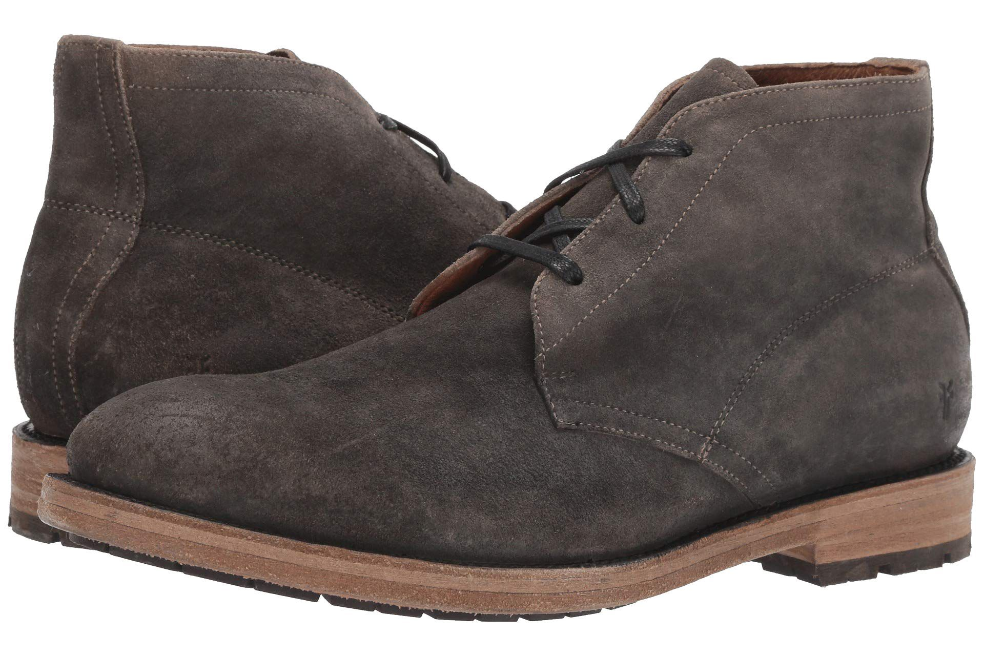 Frye Bowery Chukka zappos.com $328.00 SHOP A high-quality Frye sole changes the entire look of the classic chukka.