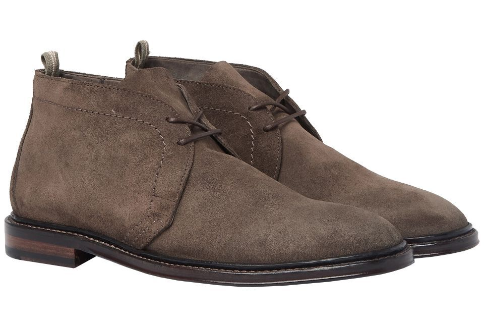Officine Creative Cornell Suede Chukka Boots mrporter.com $585.00 SHOP Officine Creative's patina gives standard suede boots more character.