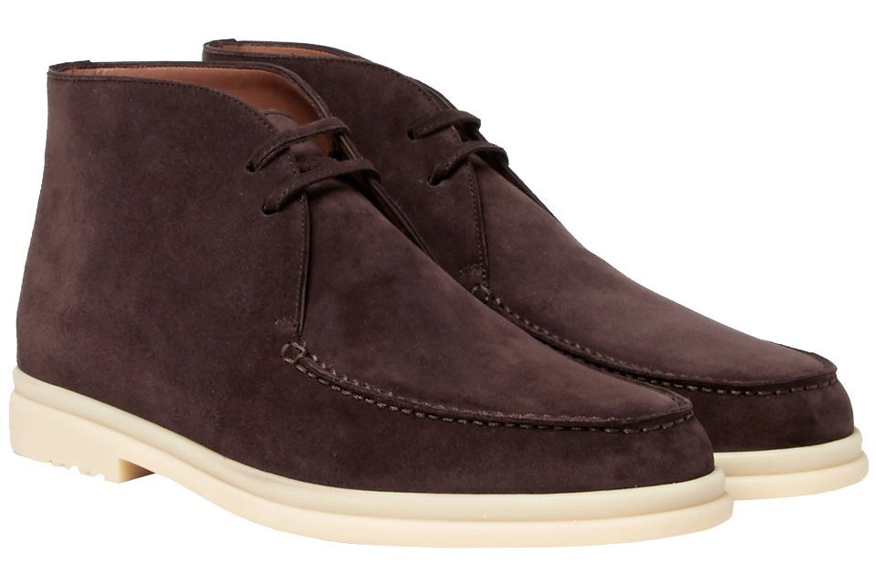 Loro Piana Walk and Walk Suede Chukka Boots mrporter.com $1,150.00 SHOP If you love desert boots, this luxe Loro Piana pair is a worthy investment.