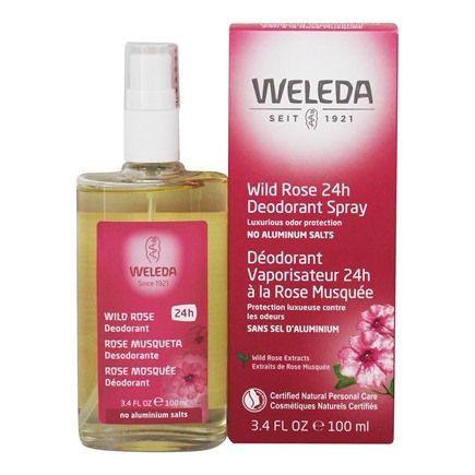 Weleda Wild Rose 24h Deodorant Spray