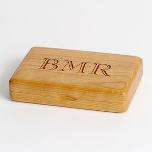 Personalized Wooden Playing Cards Box EngravingPro etsy.com $36.45 SHOP NOW Of course, Dad's gonna need a place to store that new deck, right? This wooden box, which you can personalize with his initials, keeps cards crisp.