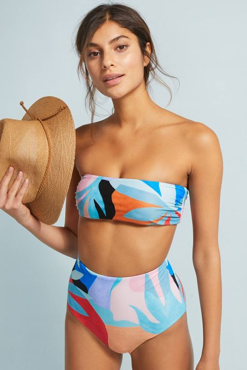 77875433df0 21 Sexy High-Waisted Swimsuits — 2019 High-Waisted Bikinis