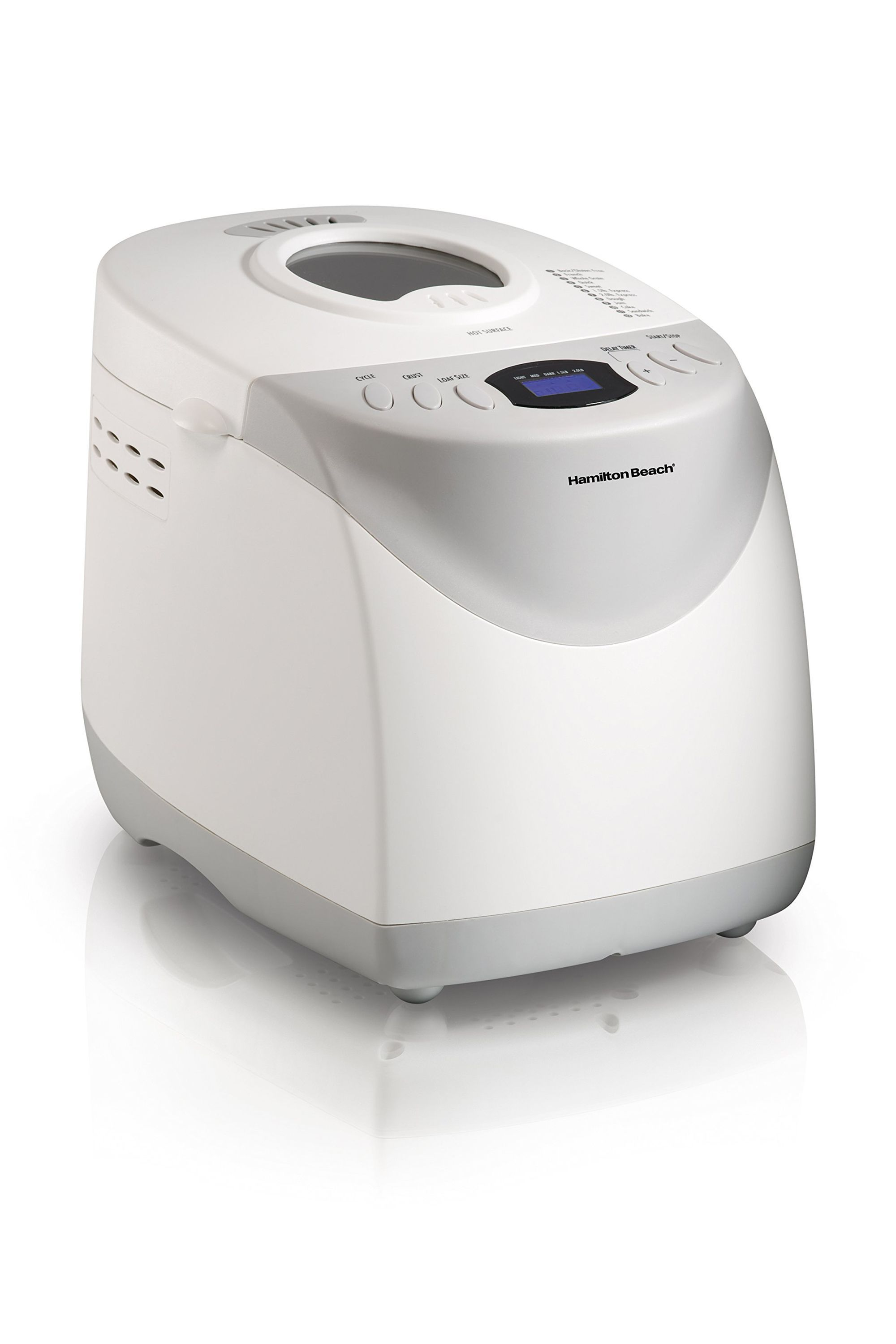 HomeBaker 2 Pound Automatic Breadmaker Hamilton Beach walmart.com $41.99 SHOP NOW The only thing better than bread is freshly made bread. This machine does just that, with a gluten-free setting too!