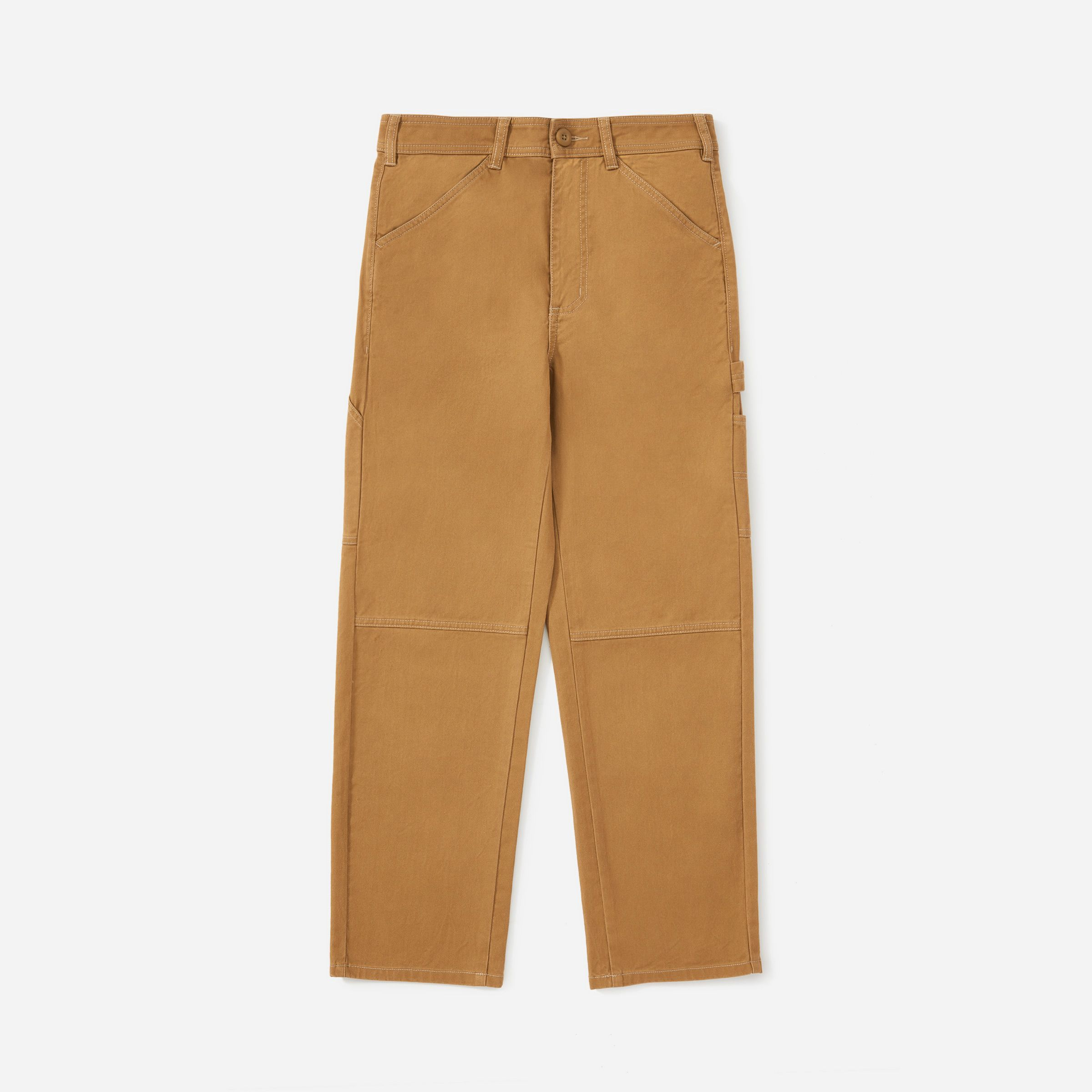 The Carpenter Pant everlane everlane.com $68.00 SHOP NOW Ever wondered how much it costs to make your favorite Everlane Cashmere sweater? Just look at Everlane's site, which provides customers with a breakdown of the production process, from materials to labor and transportation.