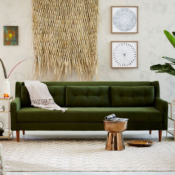 25 Best Velvet Couches At Every Budget