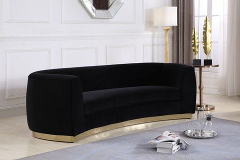 Awe Inspiring 25 Best Velvet Couches At Every Budget Velvet Sofas Under Pabps2019 Chair Design Images Pabps2019Com