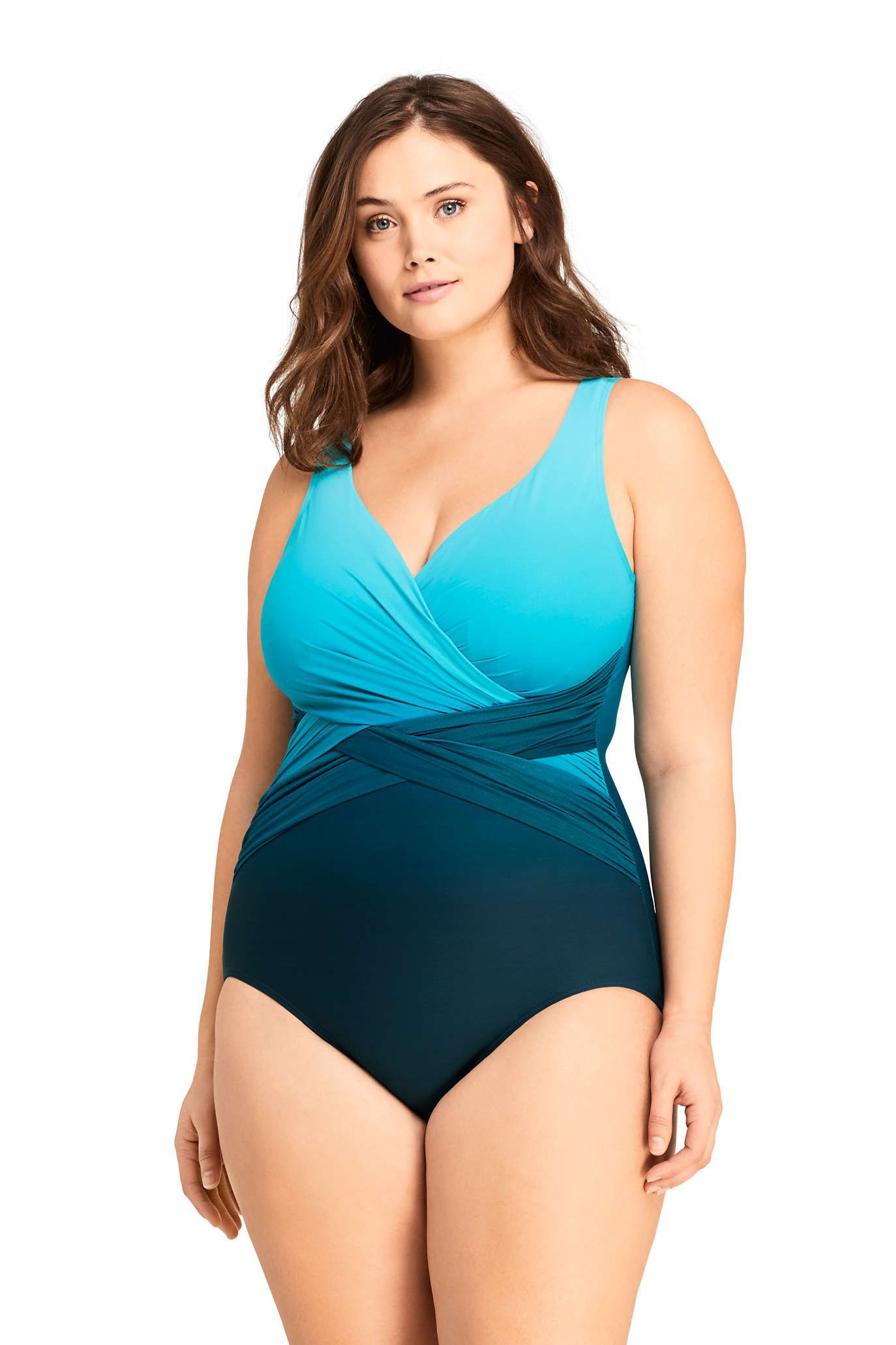 Sexy one piece swimsuits for curvy women