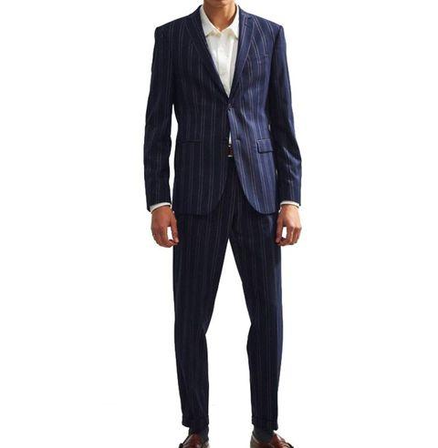cb650e9edcf 11 Best Pinstripe Suits For Men - Suit Separates Spring Wedding