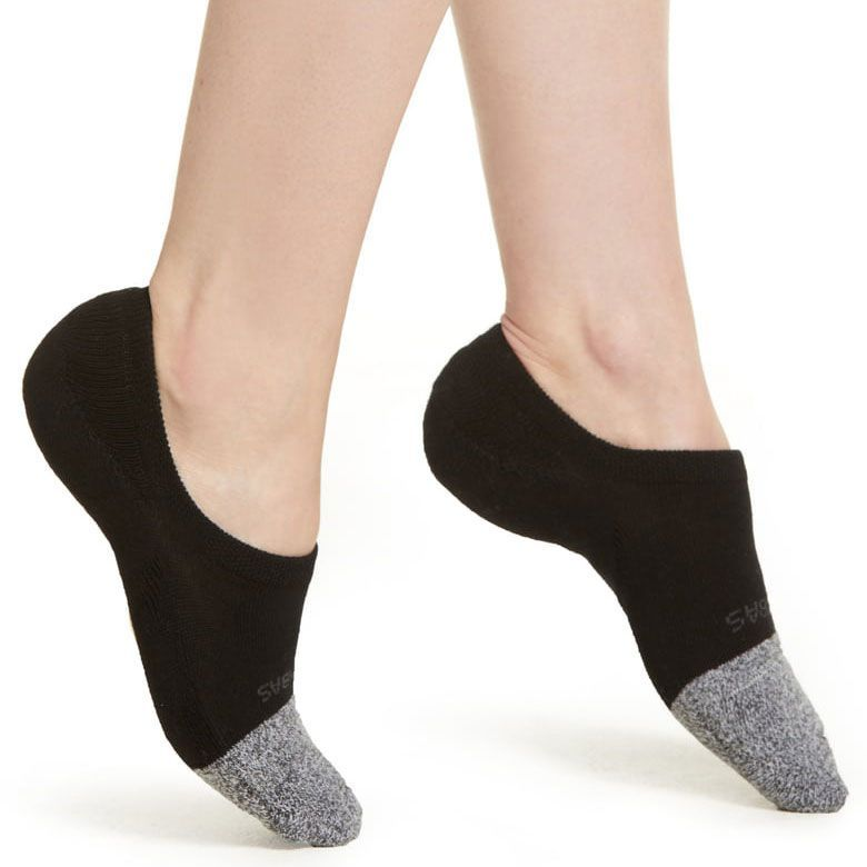 No Show Socks for Women,3 to 9 Pairs Cotton Casual No-Slip Invisible Black Beige Grey Flat Boat Liner Socks