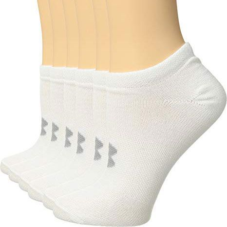 a4c8f78fab83f Under Armour Essential No Show Socks (6 Pairs)