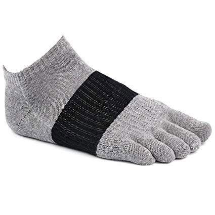 1d9b928ff988c PACKGOUT Five Finger No Show Socks (6 Pairs)