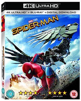 Ritorno a casa Spider-Man [4K UHD + Blu-ray] [2017] [Region Free]