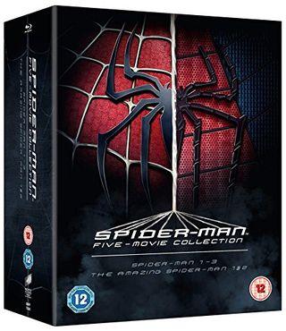 La collezione completa di cinque film di Spider-Man [Blu-ray] [Region Free]