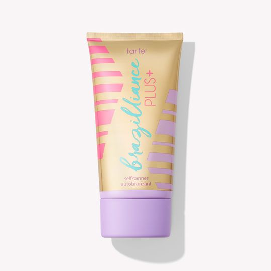 The Fast-Acting Tan Brazilliance PLUS+ self tanner Tarte tartecosmetics.com $39.00 SHOP NOW This self tanner claims to have you looking bronzed within four hours of application. The formula is also unique because it contains a combo of aloe, citric acid, and squalene to smooth and exfoliate your skin as well as add some color.