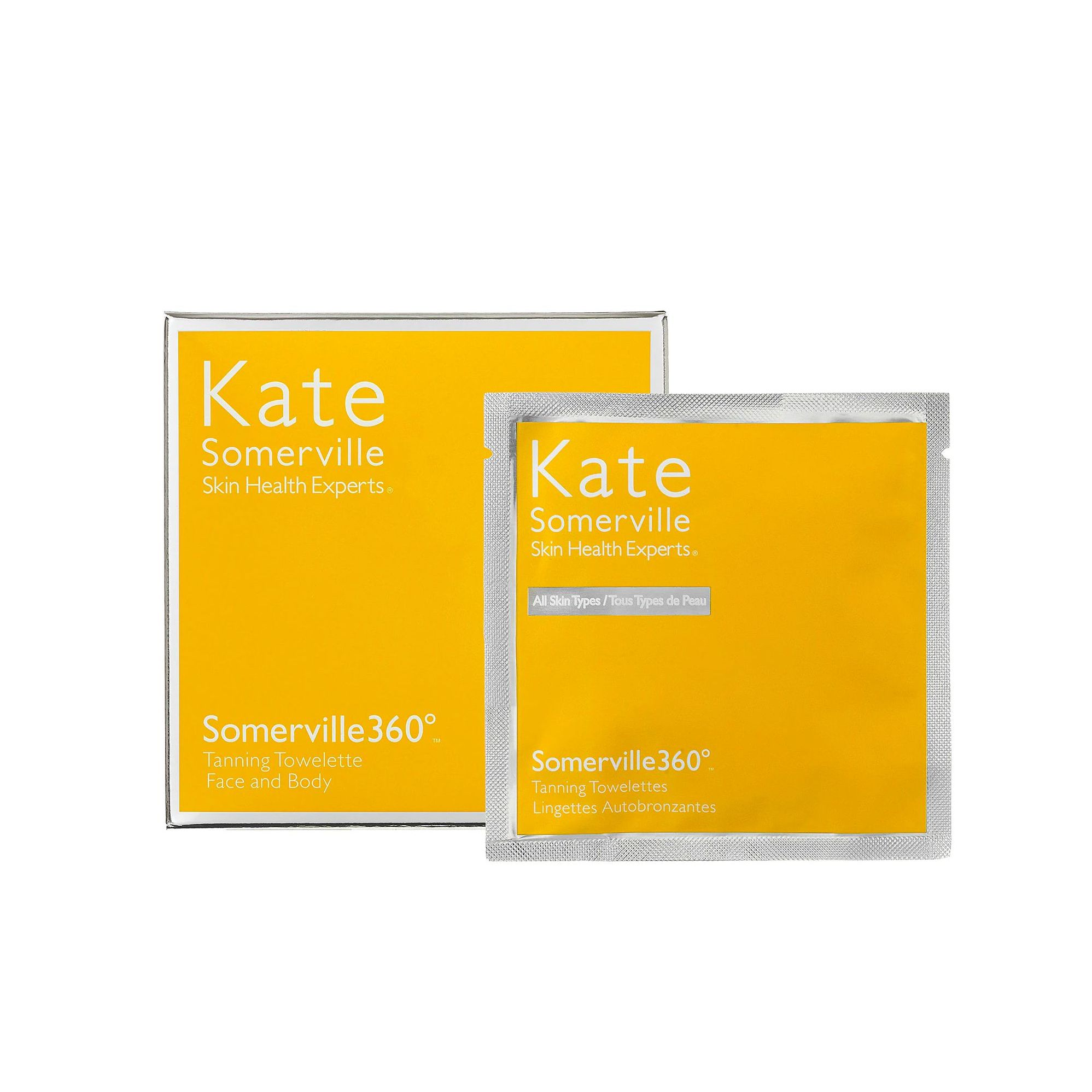 The Cult-Favorite Somerville 360° Tanning Towelettes Kate Somerville sephora.com $48.00 SHOP NOW It doesn't get easier than these self tanner towelettes. After swiping them all over, you'll notice an even tan within two to four hours.