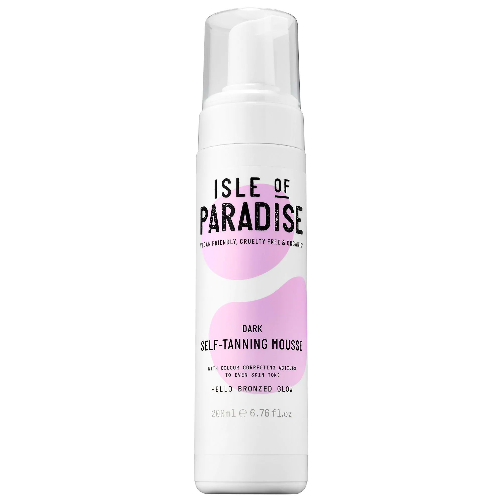 The Color-Corrector Self-Tanning Mousse Isle of Paradise sephora.com $29.00 SHOP NOW This unique line of self-tanning mousse doubles as a color-corrector for your whole body. Its base comes in either peach (fair), green (medium), or violet (deep) to deliver a tan tailored to your skin tone.