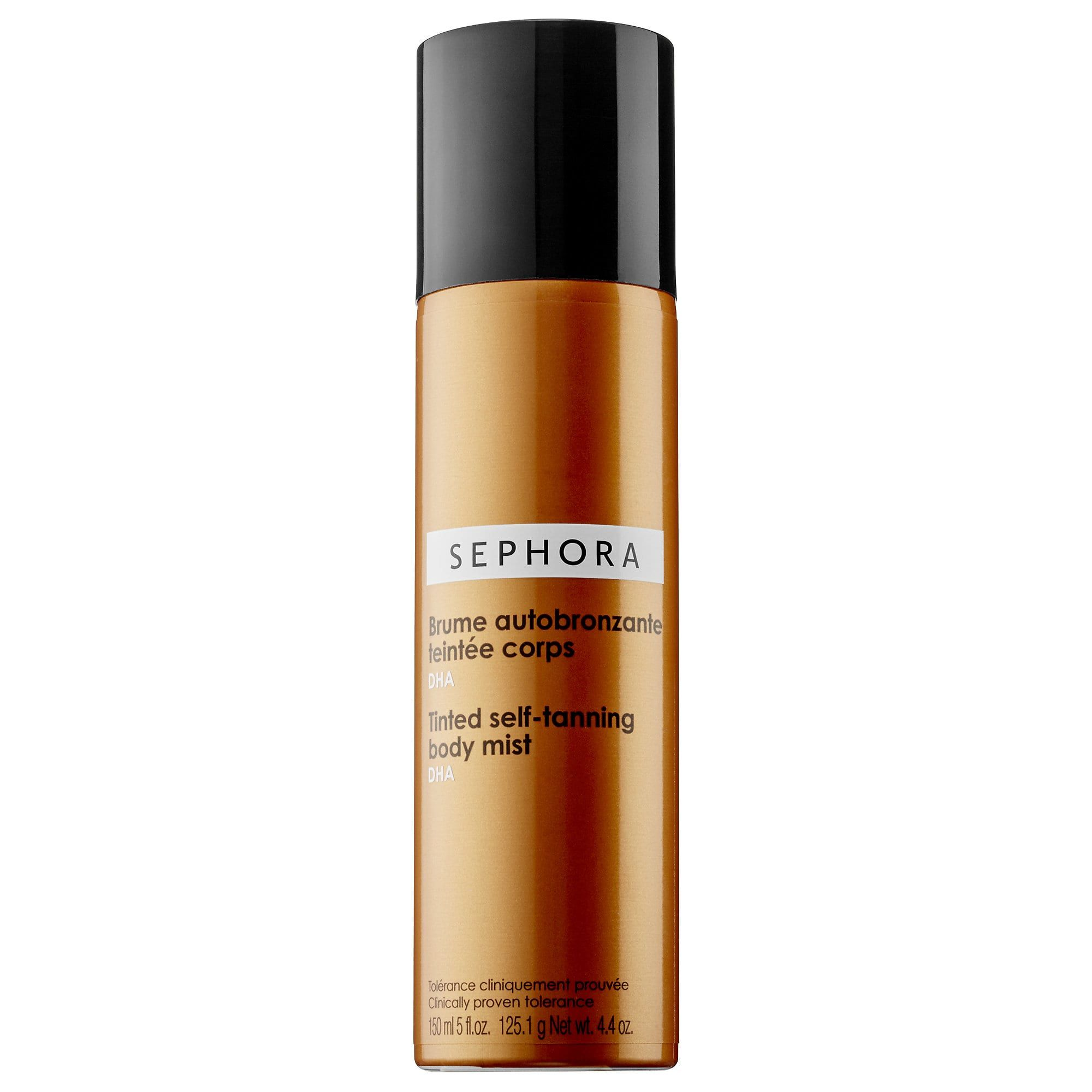 The Instant Tan Tinted Self-Tanning Body Mist Sephora Collection sephora.com $18.00 SHOP NOW If you've got a special occasion and need a color boost quick, this bronzing mist will immediately add warmth to your skin.