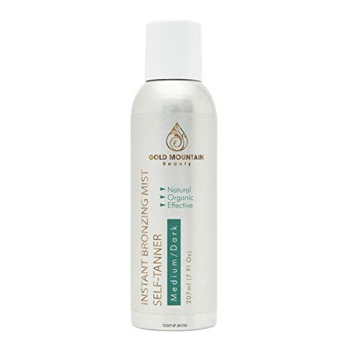 The Mist Instant Bronzing Mist Self-Tanner Gold Mountain Beauty amazon.com $19.99 SHOP NOW If chemicals in tanning products are your concern, slather on this spray worry free. It still contains the DHA coloring agent, but mostly natural ingredients like calendula and walnut shell extract round out the formulation.