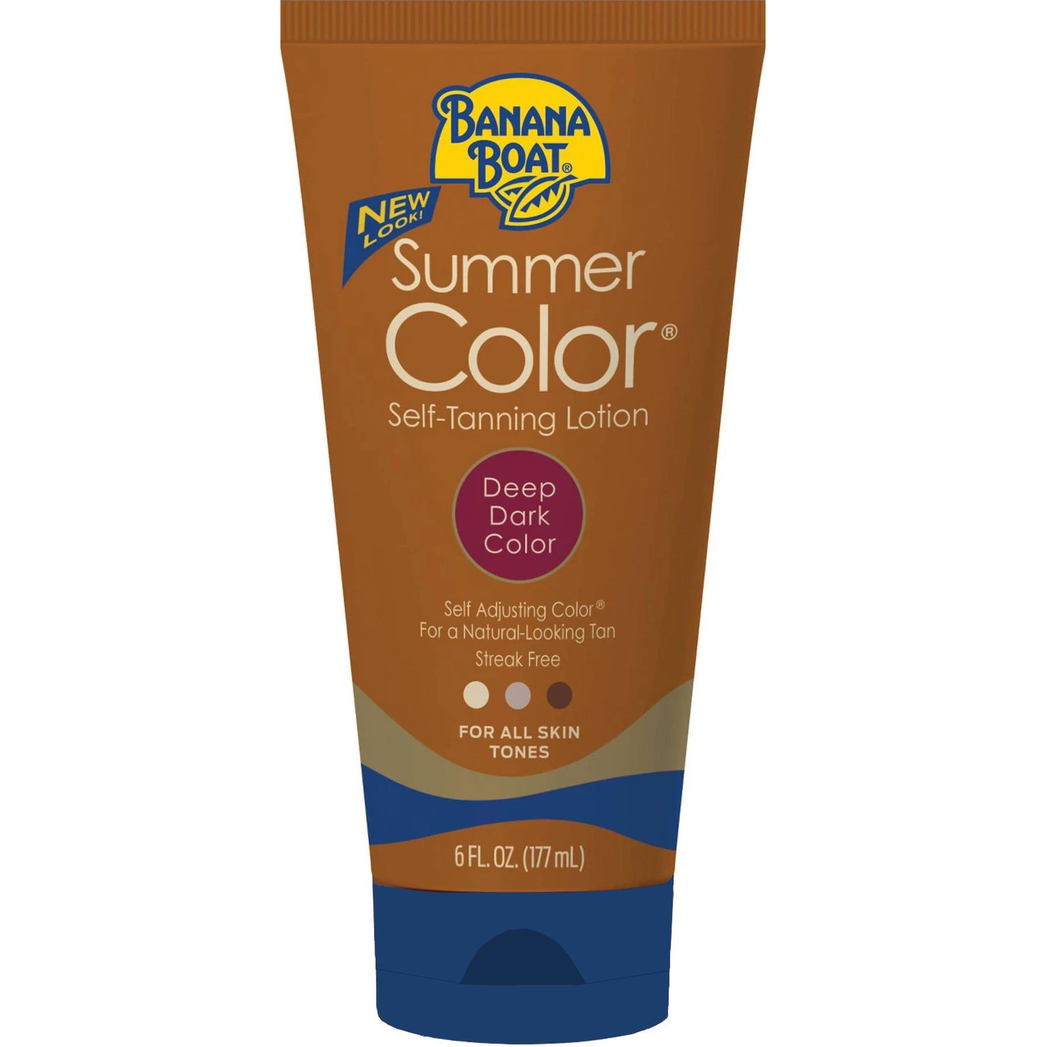 The Deep Skin-Friendly Pick Banana Boat Self Tanning Sunless Lotion Banana Boat walmart.com $6.67 SHOP NOW Here's another tanner that works for deeper skin tones. Bonus: The drugstore, under $10 price tag lets you stock up on multiple bottles.