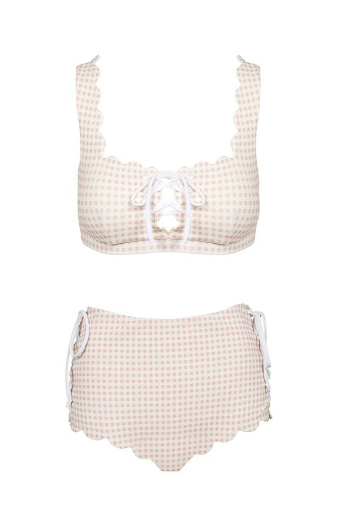 f04acf0d33 1 of 16. Best for Instagram. The Lace Up Crop Bikini