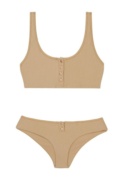 150bb169a1 5 of 16. Best for a Casual Pool Day. The Buttoned Up Crop Bikini
