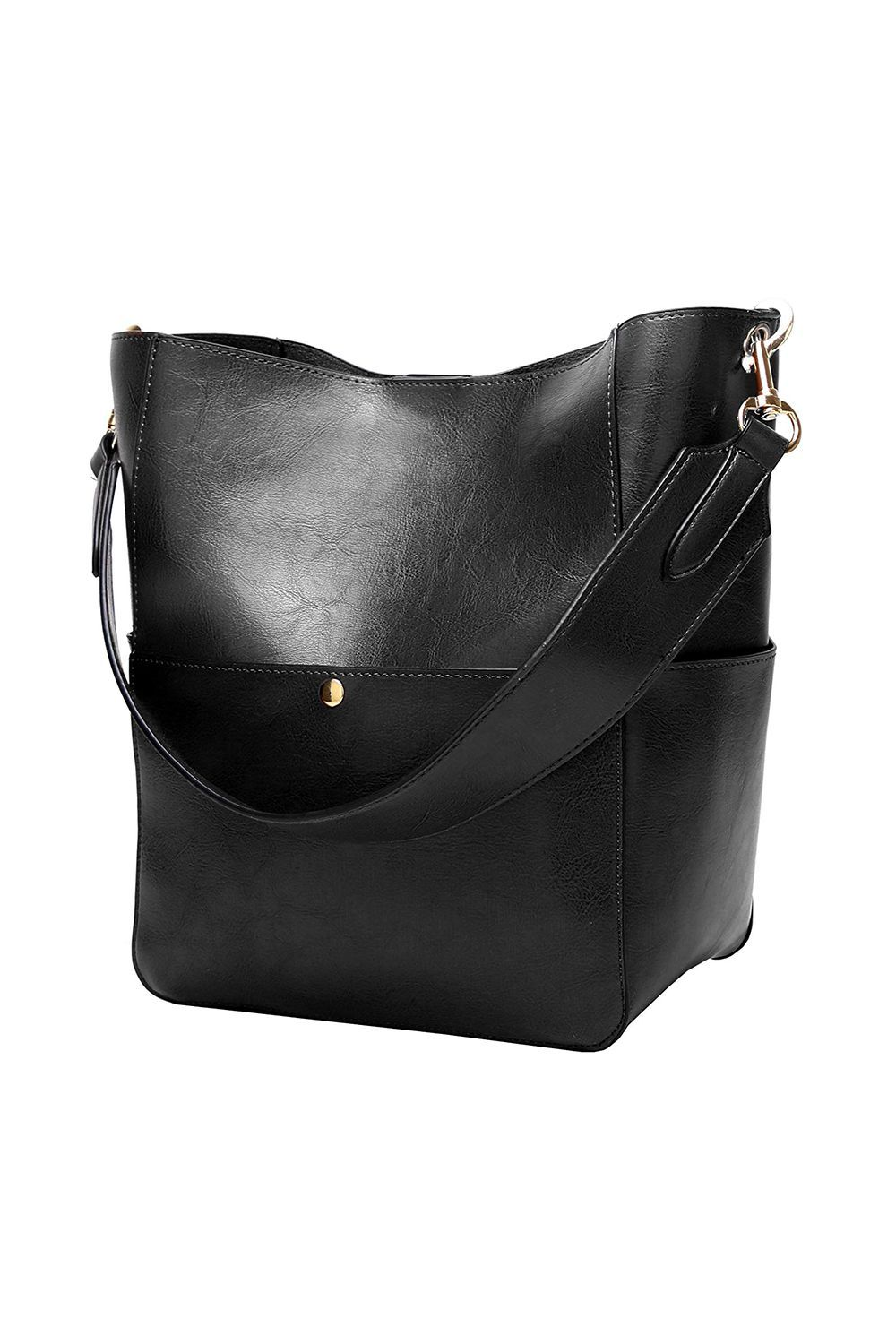 Best for Day to Night Satchel Top Handle Tote Bag Molodo amazon.com $159.99 $33.99 (79% off) SHOP IT This bucket tote comes in seven different colors and contains an inner zipped pouch that can be easily removed. The single-strap bag can definitely fit a laptop and a book or two.