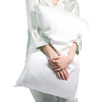100% Pure Silk Pillowcase Fishers Finery amazon.com SHOP NOW A well-rested mom is a happy mom, right? Help yours have sweet dreams—and get her beauty sleep—with this luxe pillowcase made of 100-percent pure silk.
