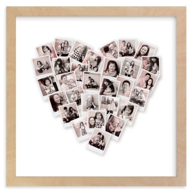 Filter Heart Snapshot Mix® Photo Art Minted minted.com $29.00 SHOP NOW A picture says 1,000 words, but Mom will be speechless when you give her this heart-shaped photo collage of her favorite pics. All you have to do is upload your favorite pictures, and Minted takes care of the rest.