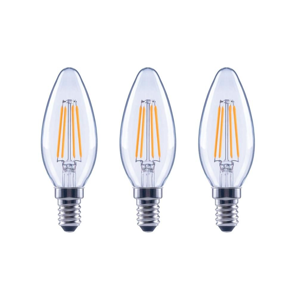 GE LED Soft White Clear Light Bulb 60watt For Chandeliers Standard Base