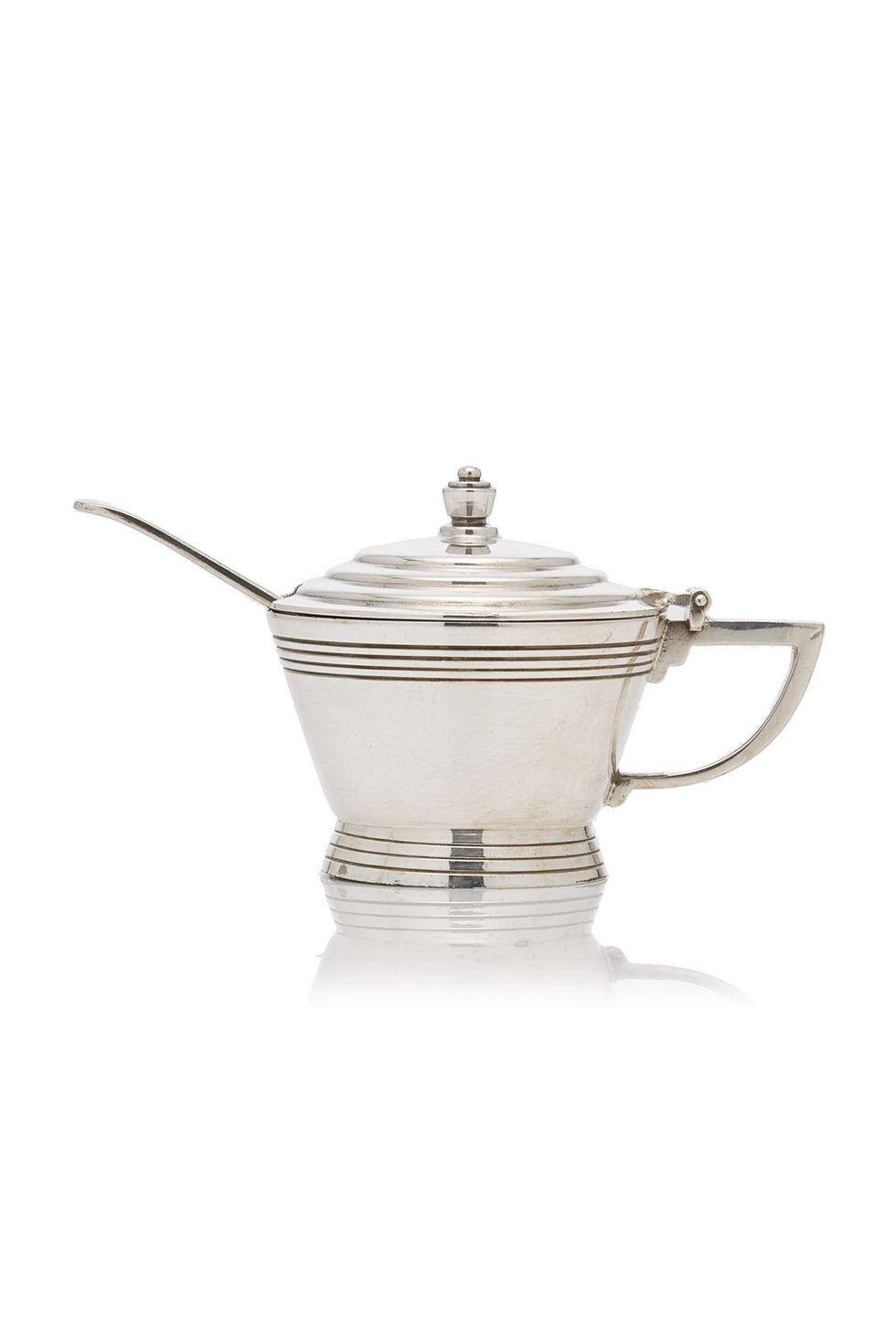 Silver-Plated Mustard Pot