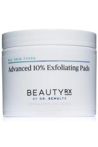 BeautyRx Advanced 10 Percent Exfoliating Pads