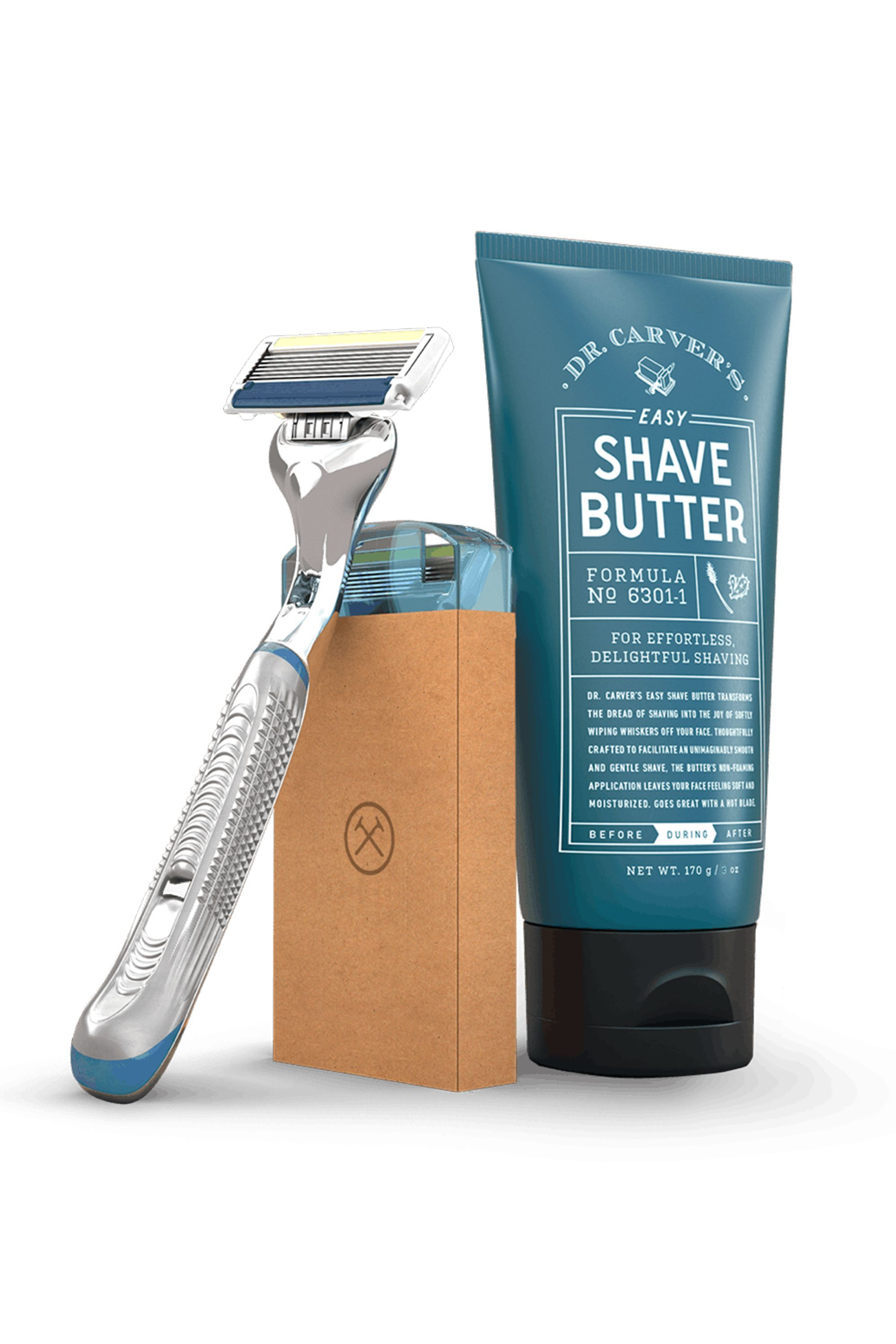 The Shave Starter Set Dollar Shave Club dollarshaveclub.com $5.00 SHOP NOW Your dad could go on forever about how the shaving industry is a scam, so subscribe him to the club that tries to resolve the problem. Starting at just $5, you can get him a monthly shaving kit for a fraction of the price that it costs in stores.