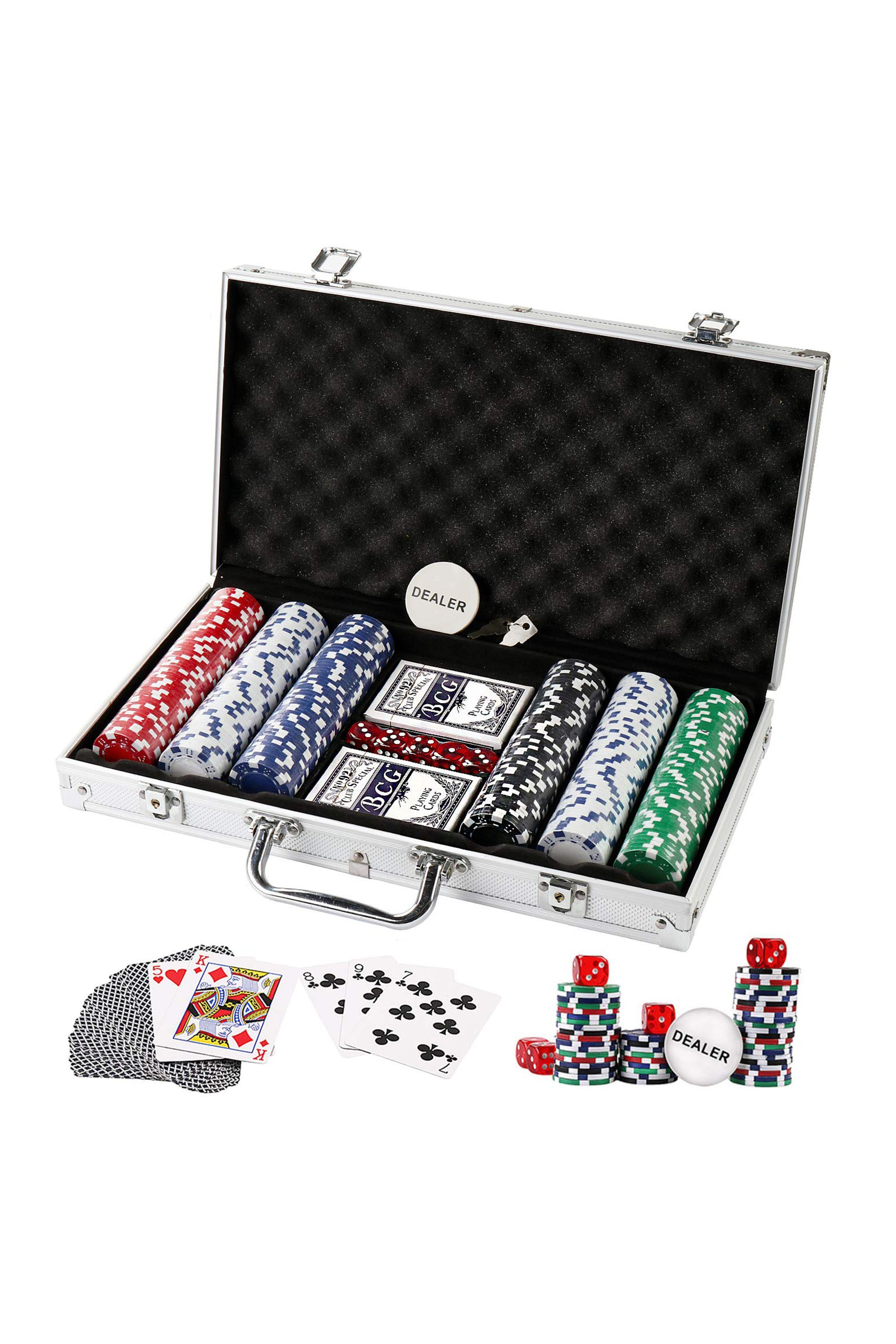 Poker Chips Set Doublefan amazon.com $39.99 SHOP NOW This 300-piece set means you can practice together. Maybe you'll actually beat him one day.