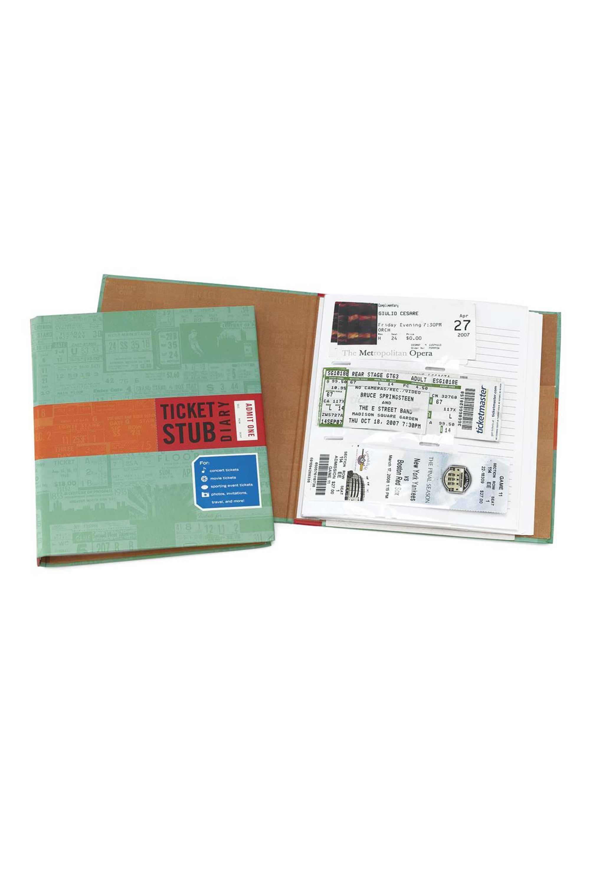 Ticket Stub Diary UncommonGoods uncommongoods.com $14.00 SHOP NOW If your dad is obsessed with concerts, get him this journal to store his memories.