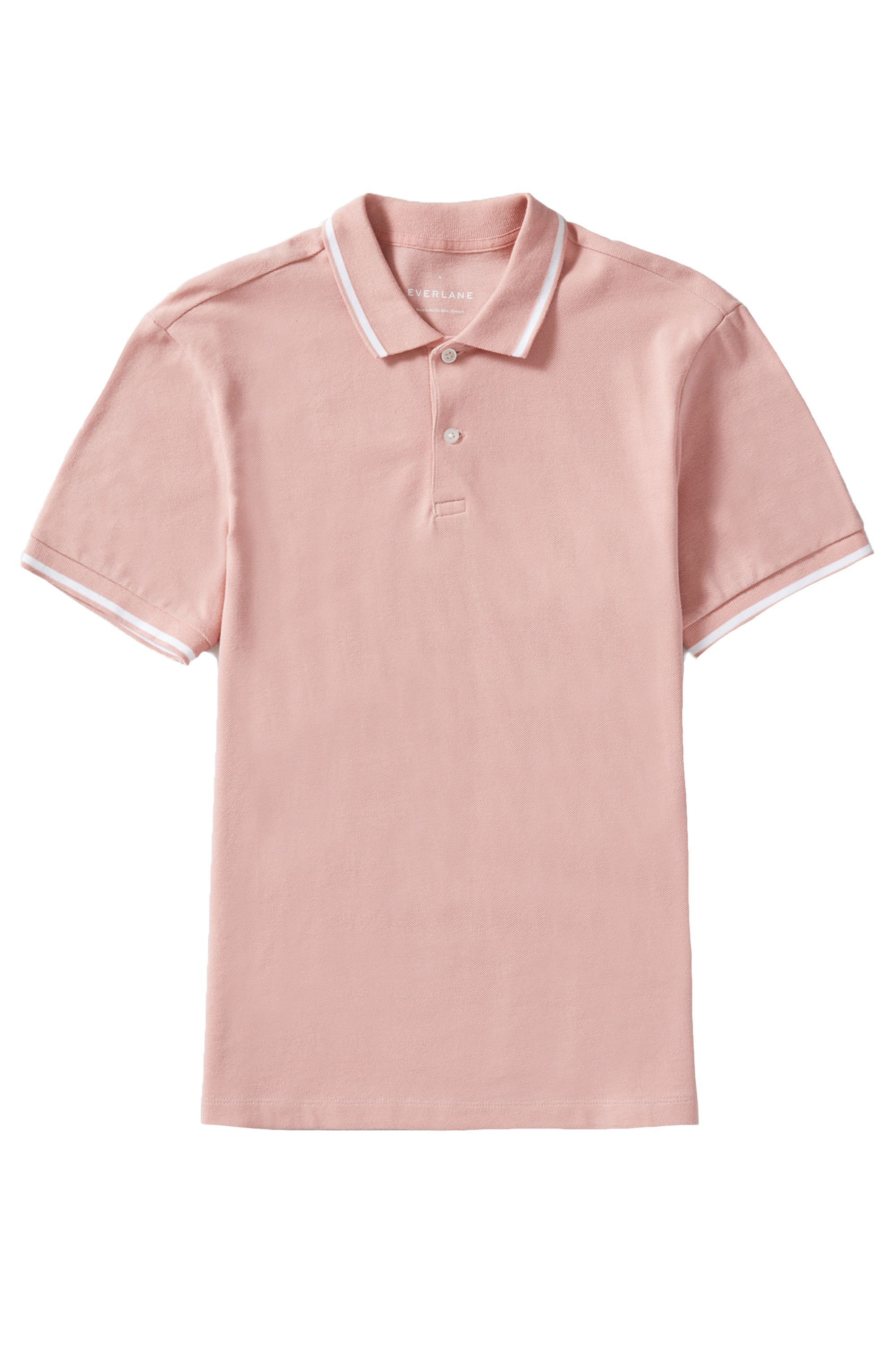 The Pique Polo Shirt Everlane everlane.com $35.00 SHOP NOW It's a scientific fact that dads look best in pink.