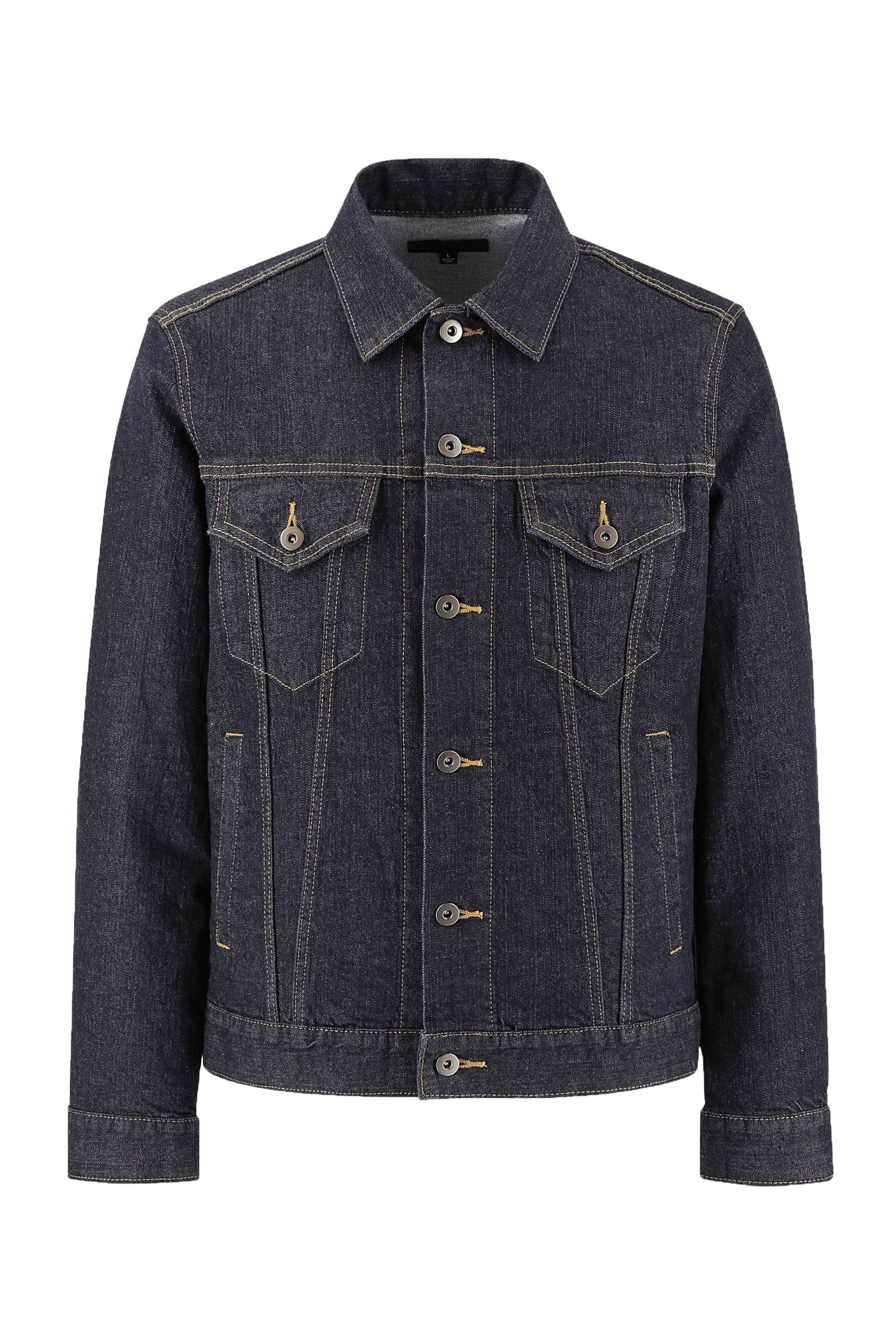 Denim Jacket Uniqlo uniqlo.com $39.90 SHOP NOW A trusty denim jacket should hang in everyone's closet, and Uniqlo makes one that looks like it should cost ten times its price.