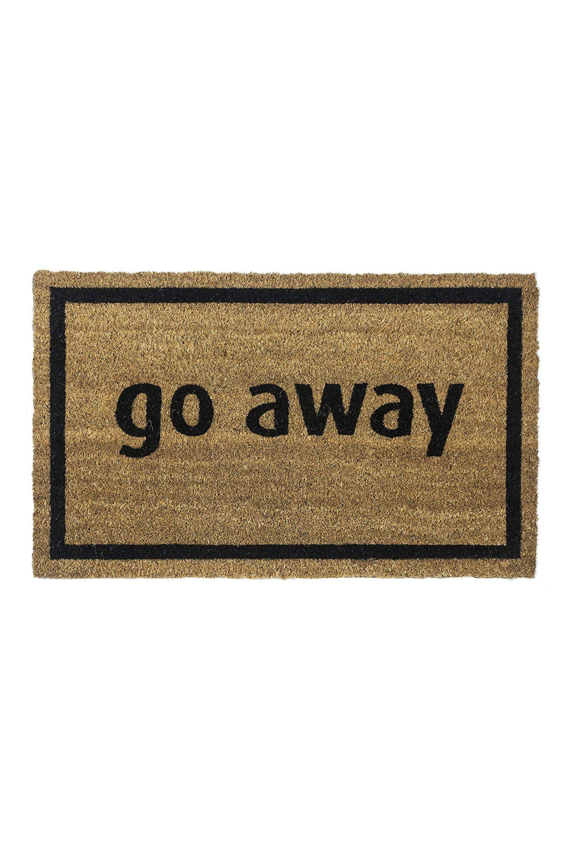 Non-Slip Doormat Entryways amazon.com $32.55 SHOP NOW He says it like it is, just like this doormat.
