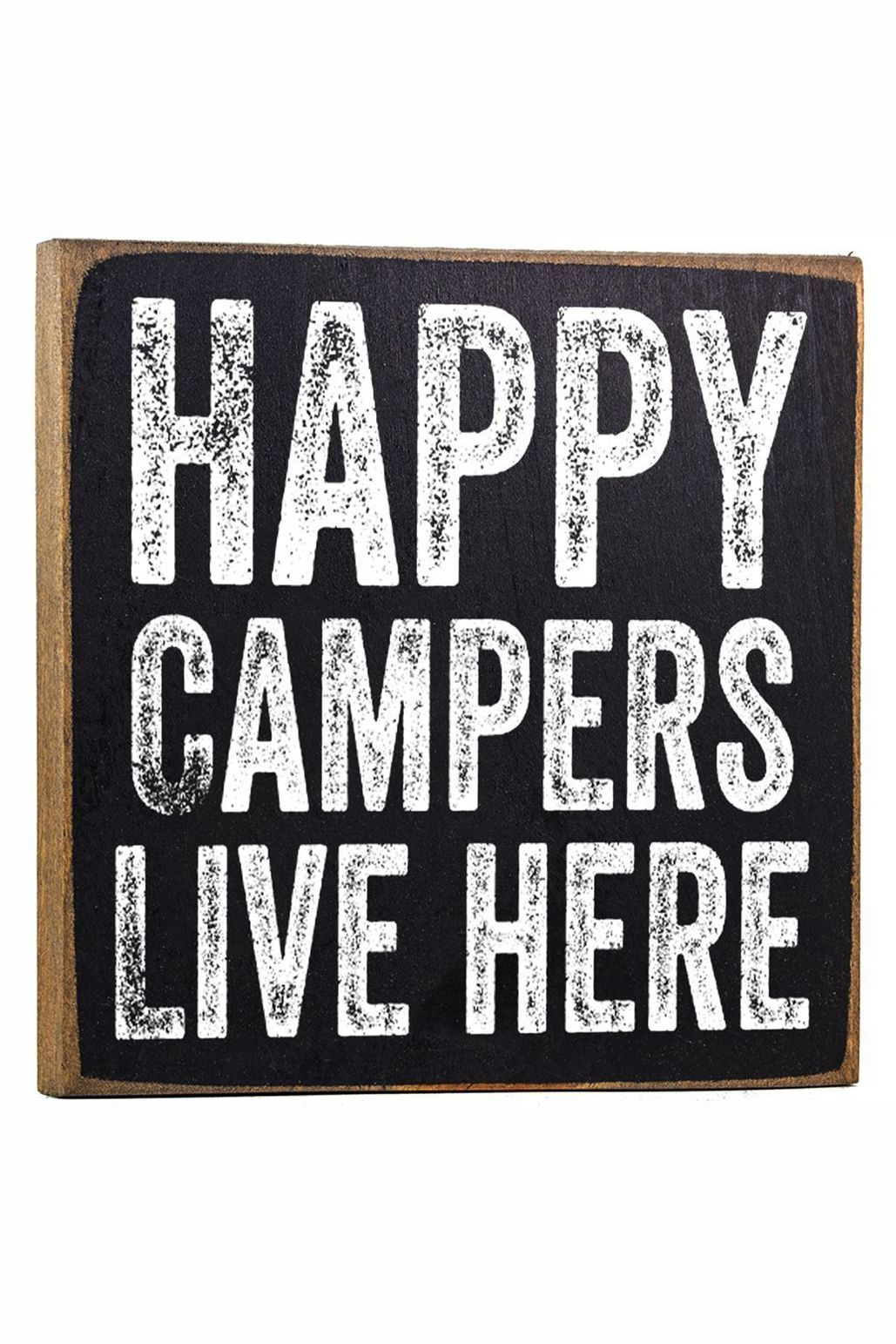 image about Free Printable Camping Signs known as 25 Entertaining Tenting Indications - Wall Decor for Campers
