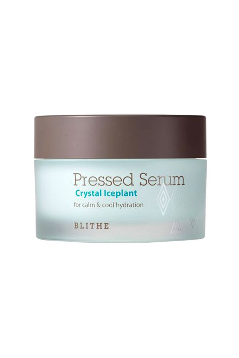 The Protector Crystal Iceplant Pressed Serum Blithe sephora.com $49.00 SHOP NOW Everyone knows the sun is the devil, but pollution is also a pretty nasty adversary for skin. Something called ice plant extract helps minimize the damage done by all the grime floating around.