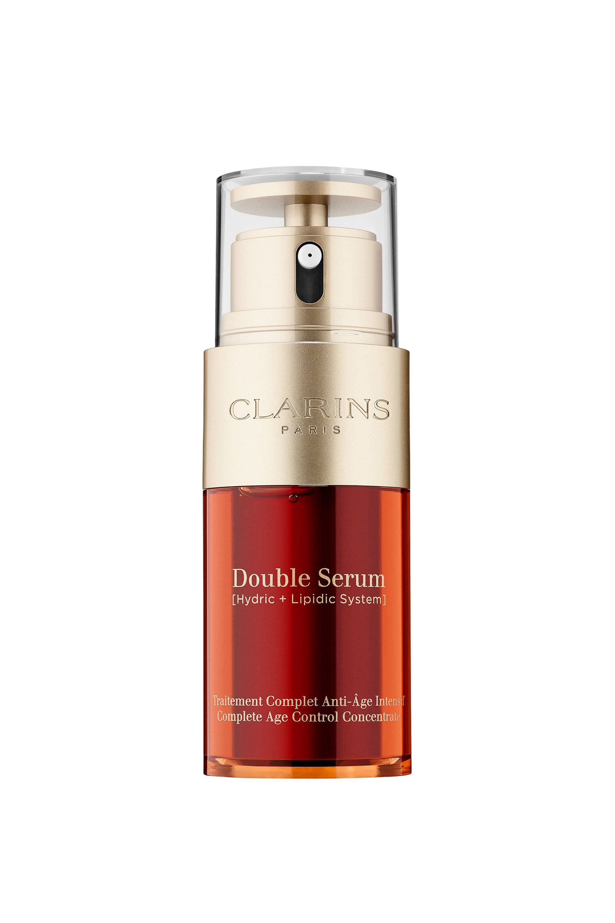 The Botanical Beauty Double Serum Complete Age Control Concentrate Clarins saksfifthavenue.com $89.00 SHOP NOW Some of the best plant-based extracts are water-soluble. Others can only thrive in oil-based solutions.