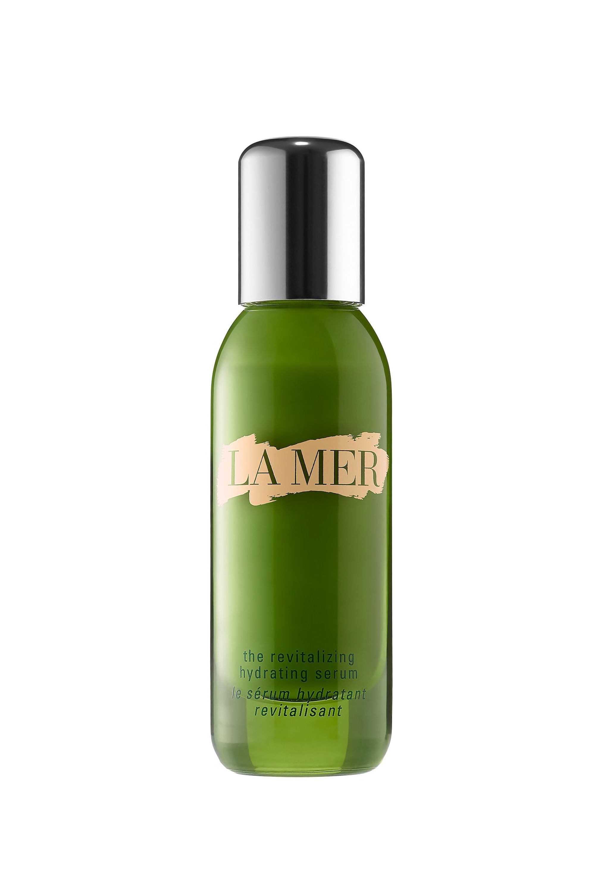 The Aquaman The Revitalizing Hydrating Serum La Mer neimanmarcus.com $205.00 SHOP NOW When tall drinks of water and a constantly running humidifier aren't doing the job for your parched skin, douse it with this seriously hydrating serum. Like La Mer's other offerings, this formula mines the power of the ocean to save your face (in this case drenching it with a nourishing algae blend).