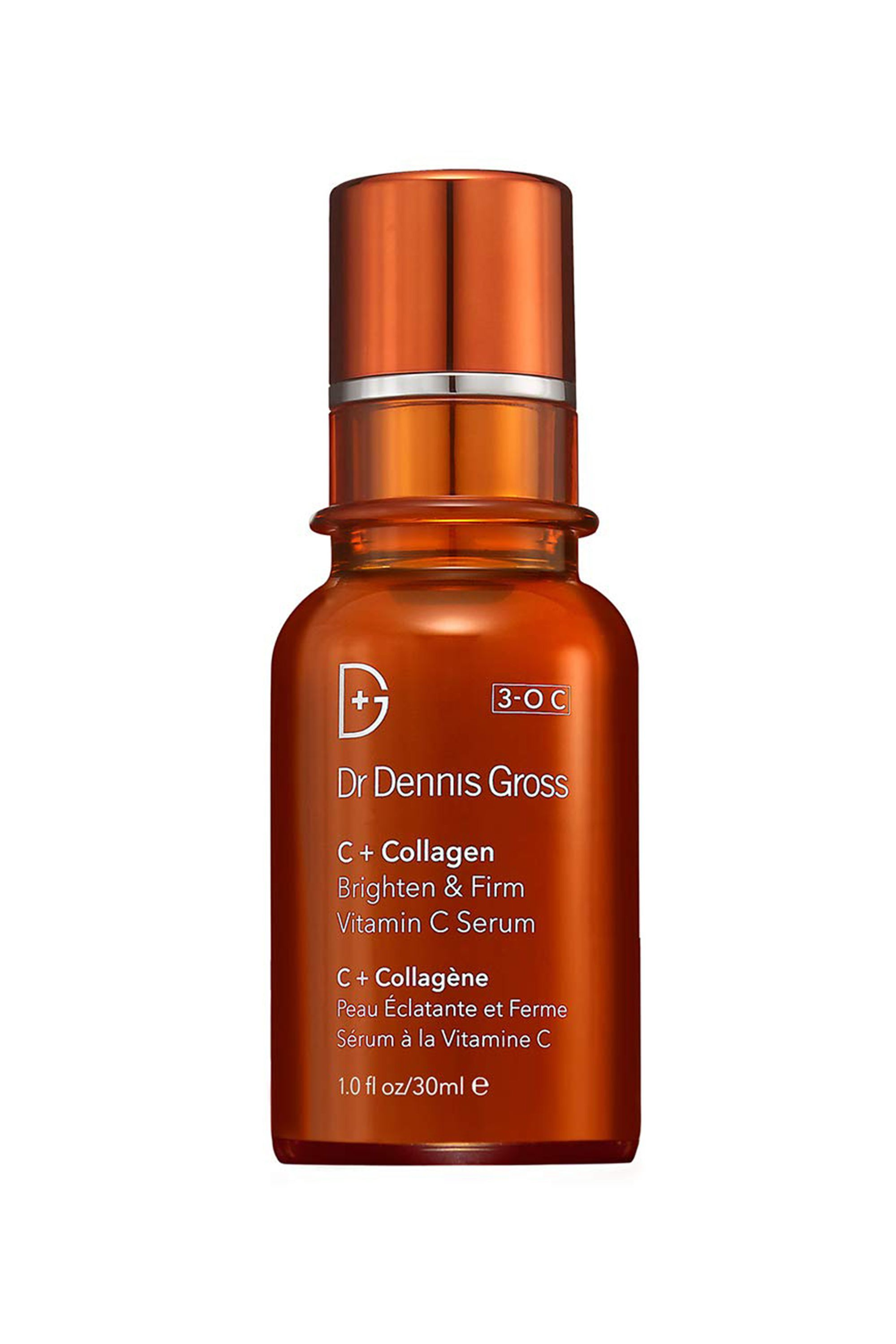 The Tighten and Brighten C+ Collagen Brighten & Firm Vitamin C Serum Dr. Dennis Gross Skincare sephora.com $78.00 SHOP NOW Brighten up dull skin by slathering your face with this illuminating gel-serum hybrid packed with potent vitamin C.