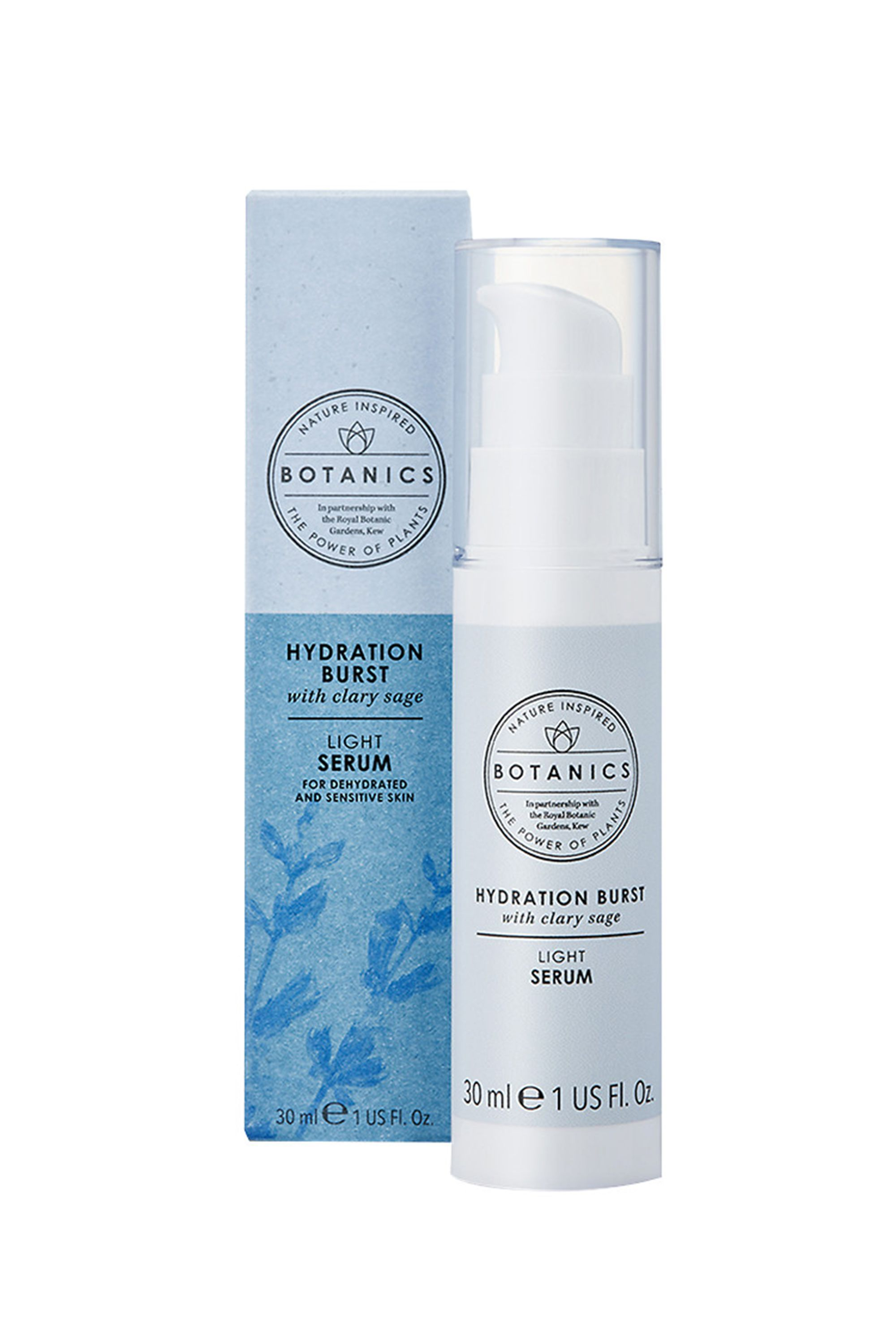 The Hydrator Hydration Burst Light Serum Botanics ulta.com $12.79 SHOP NOW Give thirsty skin a mega dose of moisture that will prevent it from feeling parched for a full day.