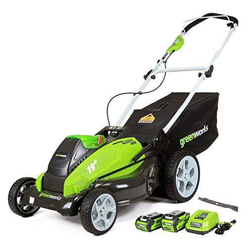 GreenWorks 25223 19-Inch 40-Volt Mower