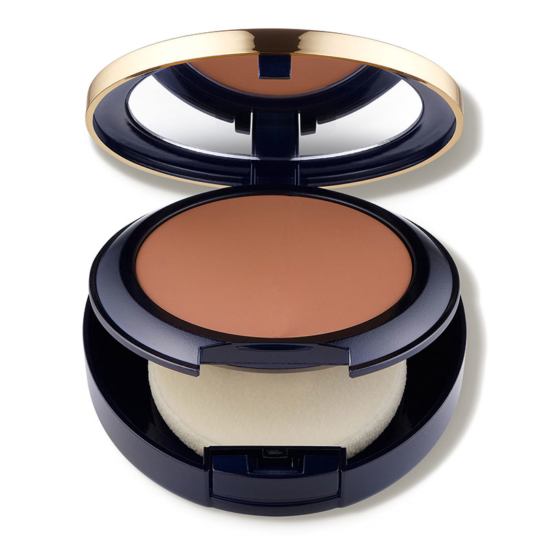For Oil Control Double Wear Stay-in-Place Matte Powder Foundation Estee Lauder dermstore.com $42.00 SHOP NOW Just a few dabs of this one on the T-zone and you'll soak up any excess shine. The included sponge applicator uniquely has two sides, one that offers sheer to medium coverage, and one for full coverage.