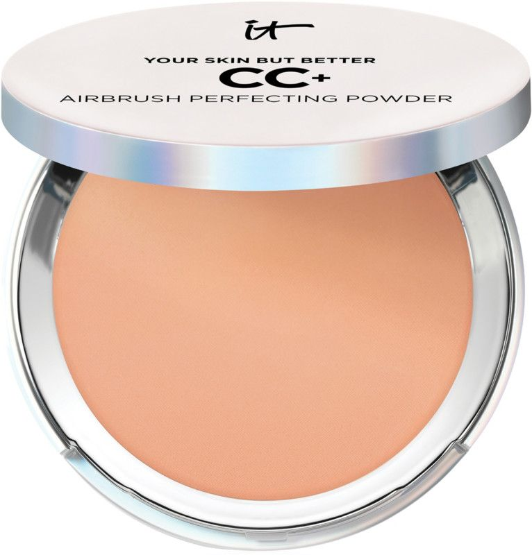 For the Lazy Your Skin But Better CC+ Airbrush Perfecting Powder It Cosmetics ulta.com $35.00 SHOP NOW If you can't be bothered to do a multi-step makeup routine, try this compact, which reinvents It Cosmetics' uber-popular CC+ cream in mess-free powder form. It's like a color corrector, primer, foundation, and finishing powder all in one.