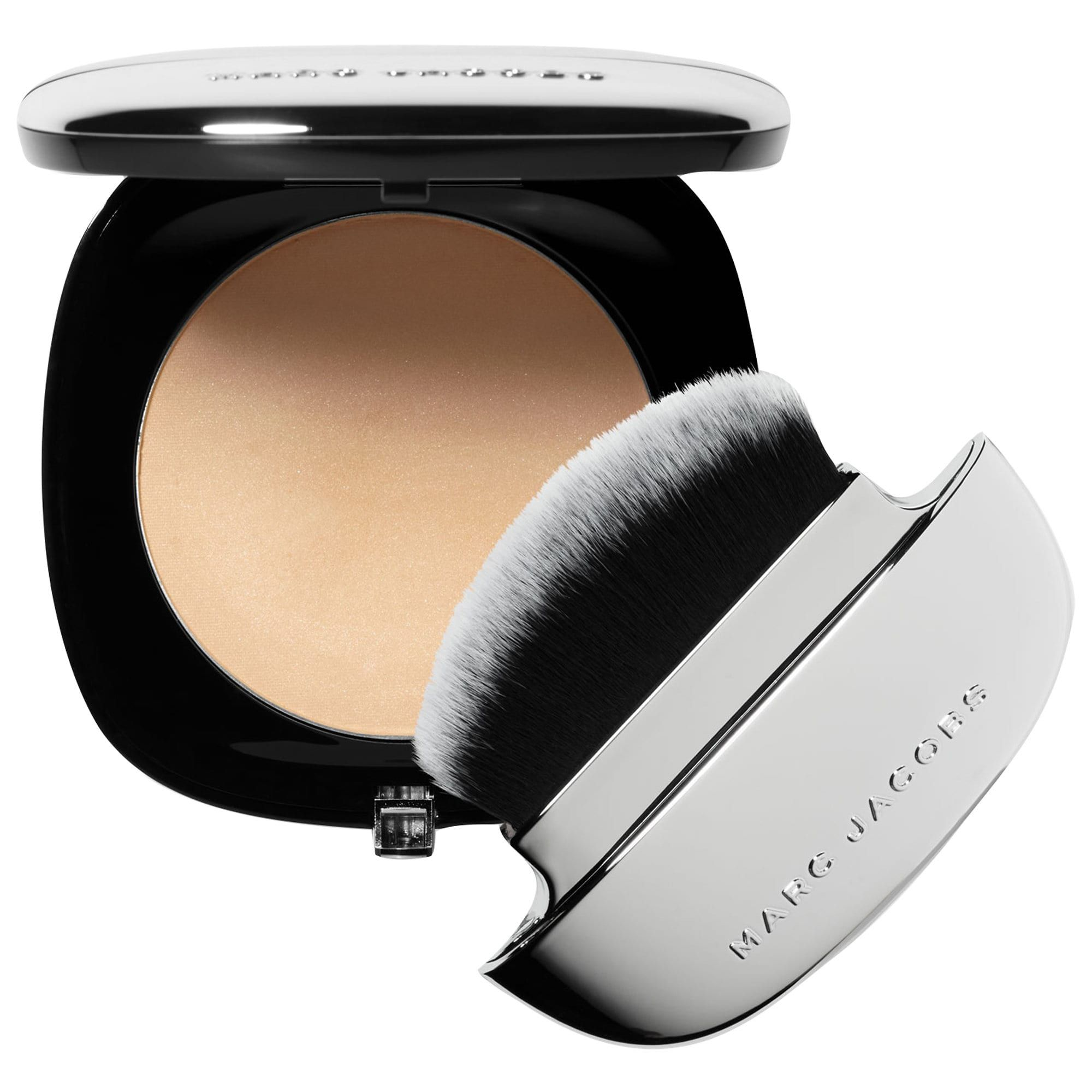 For Touch-Ups Accomplice Instant Blurring Beauty Powder Marc Jacobs Beauty sephora.com $49.00 SHOP NOW This isn't technically a foundation, but it is your foundation's best friend. The brush sits flat on your face to get into every crevice and immediately leaves a matte veil on skin.